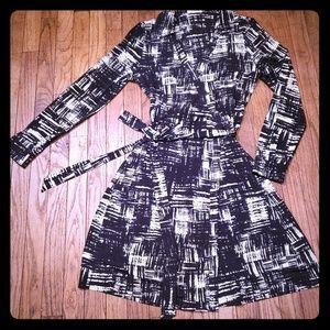 Calvin Klein wrap dress